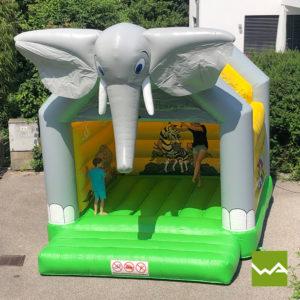Elefanten Hüpfburg 9