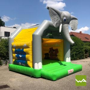 Elefanten Hüpfburg 7