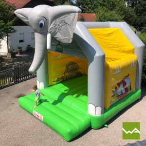 Elefanten Hüpfburg 5
