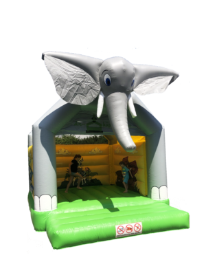 Elefanten Hüpfburg 4