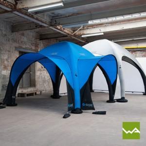 Aufblasbare Zelte ohne Dauergebläse - Event Tent - Fusion Panel