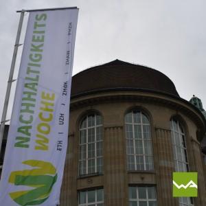 Werbefahnen / Werbeflaggen - Universität Zurich