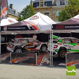 Faltzelt - BMA Autosport
