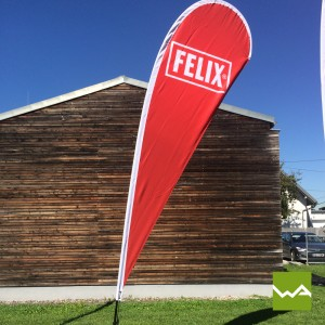 Beachflags DROP – Felix