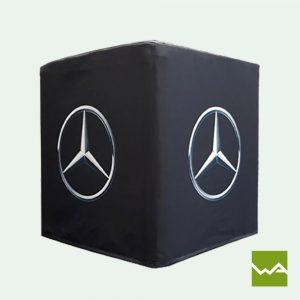 Flatcube - faltbarer Sitzwürfel - Mercedes Benz