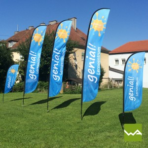Beachflags SHARK – Genial Lernzentrum