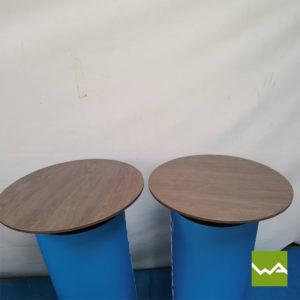 Hocker Table Tischplatte