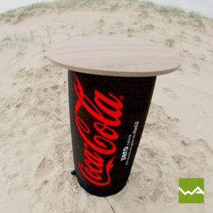 Hocker Table Coca Cola