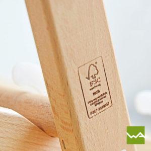 Liegestuhl PRO nachhaltiges Holz