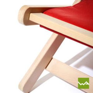 Doppel Liegestuhl PRO Sitzfläche