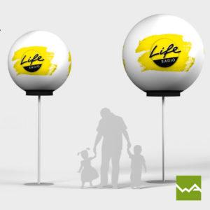 Pneu Leuchtballon Detailfoto 5
