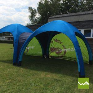 Aufblasbares Werbezelt - GYBE Event Tent - Lindenhof 7