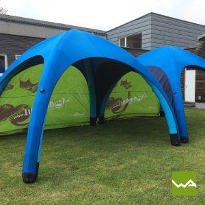 Aufblasbares Werbezelt - GYBE Event Tent - Lindenhof 6
