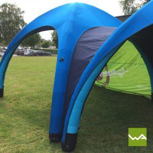 Aufblasbares Werbezelt - GYBE Event Tent - Lindenhof 5