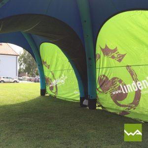 Aufblasbares Werbezelt - GYBE Event Tent - Lindenhof 4