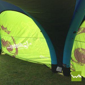 Aufblasbares Werbezelt - GYBE Event Tent - Lindenhof 3