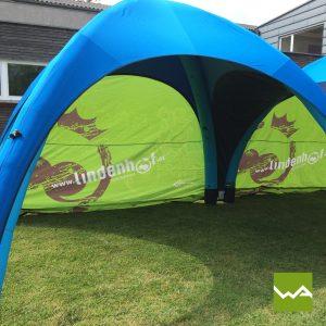 Aufblasbares Werbezelt - GYBE Event Tent - Lindenhof 2