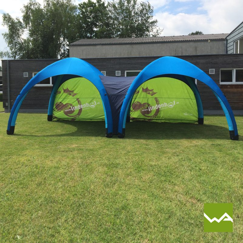 Aufblasbares Werbezelt - GYBE Event Tent - Lindenhof