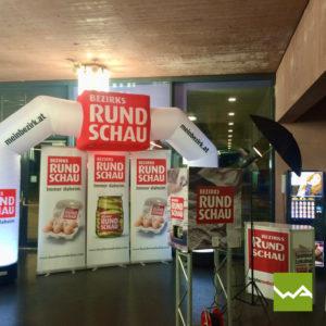 Eventbetreuung Bezirksrundschau Fotobox Black Wiungs Linz