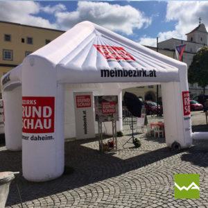 Eventbetreuung Bezirksrundschau