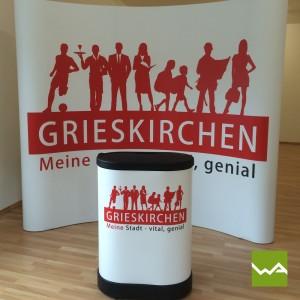 Magnetwand Pop up MAGNETIC – Stadt Grieskirchen 2