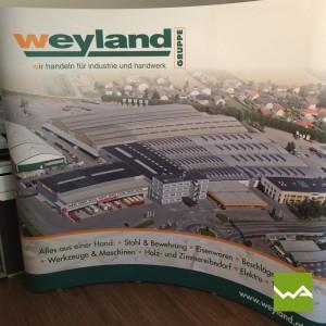 Werbewand Pop up MAGNETIC – Weyland