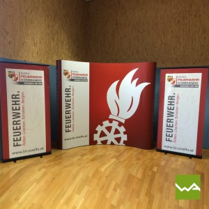 Messewand Pop up MAGNETIC - Feuerwehr