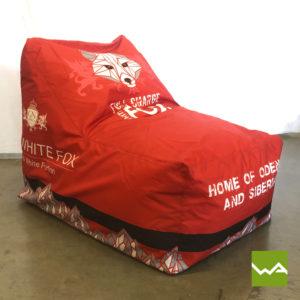 Beanbag Chair White Fox 3