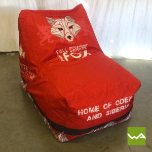 Beanbag Chair White Fox 2