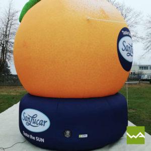 Aufblasbare Sonderform San Lucar Orange 3