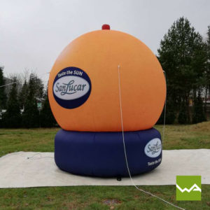 Aufblasbare Sonderform San Lucar Orange 2