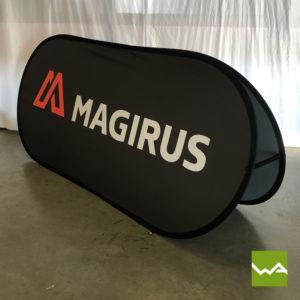 Pop Out Banner Sportbanner Magirus 2