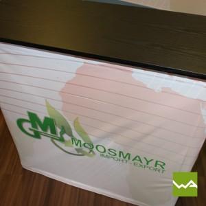 Textilfalttheke - Moosmayr