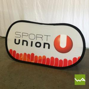 Pop out Banner Sport Union 2