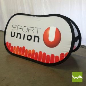 Pop out Banner Sport Union 1
