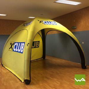 Aufblasbares Werbezelt - GYBE Event Tent - Raiffeisenbank 4