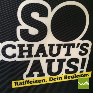 Sitzwürfel EXCLUSIVE - Raiffeisenbank