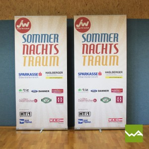 Expolinc Roll ups Compact - Sommernachtstraum