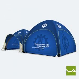 Pneu Schnelleinsatzzelt / GYBE Humanity Tent – Technisches Hilfswerk