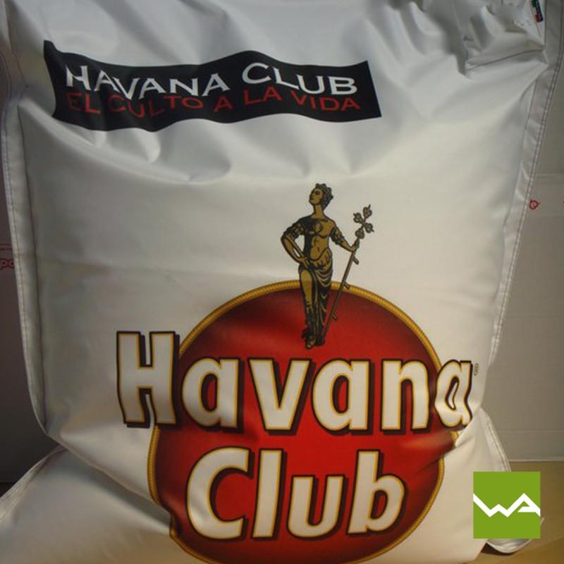 Sitzkissen GRANDE bedruckt - Havanna Club