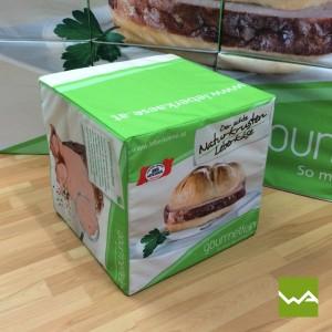 Sitzwürfel / Dekowürfel / Werbewürfel – Gourmetfein 3