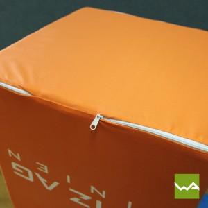 Sitzwürfel EXCLUSIVE – Reissverschluss 2