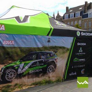 Skoda Racing Faltzelt