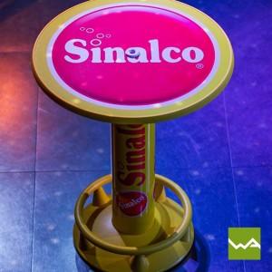 Werbestehtisch CLASSIC – Sinalco
