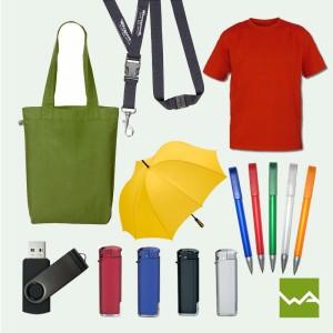 Shirts, Kugelschreiber, Feuerzeuge, USB Stick,...