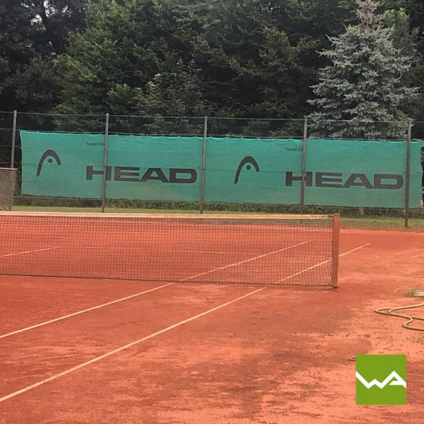 Tennisblende - Werbebanner für Tennisplätze 2