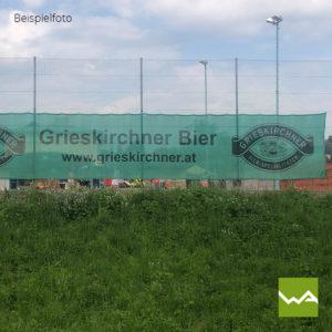 Tennisblende Grieskirchner Bier