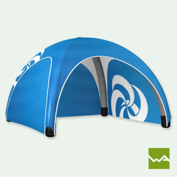 Pneu Zelt Aufblasbares Werbezelt Airmachine Tent Titelbild
