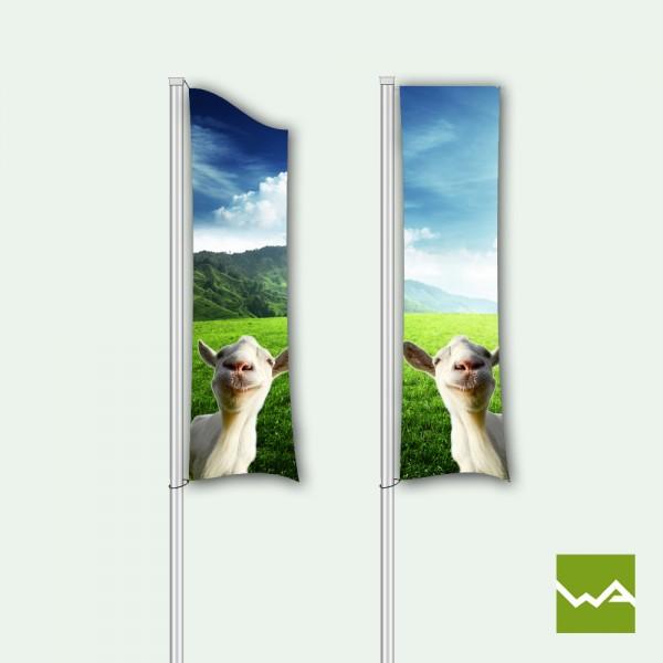 Werbefahnen / Werbeflaggen - Titelbild