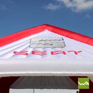 Aufblasbares Zelt - Dach
